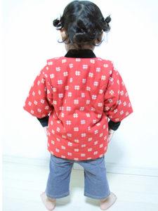 Sちゃん(2歳6か月) こどもはんてん 着用サイズ:90cm