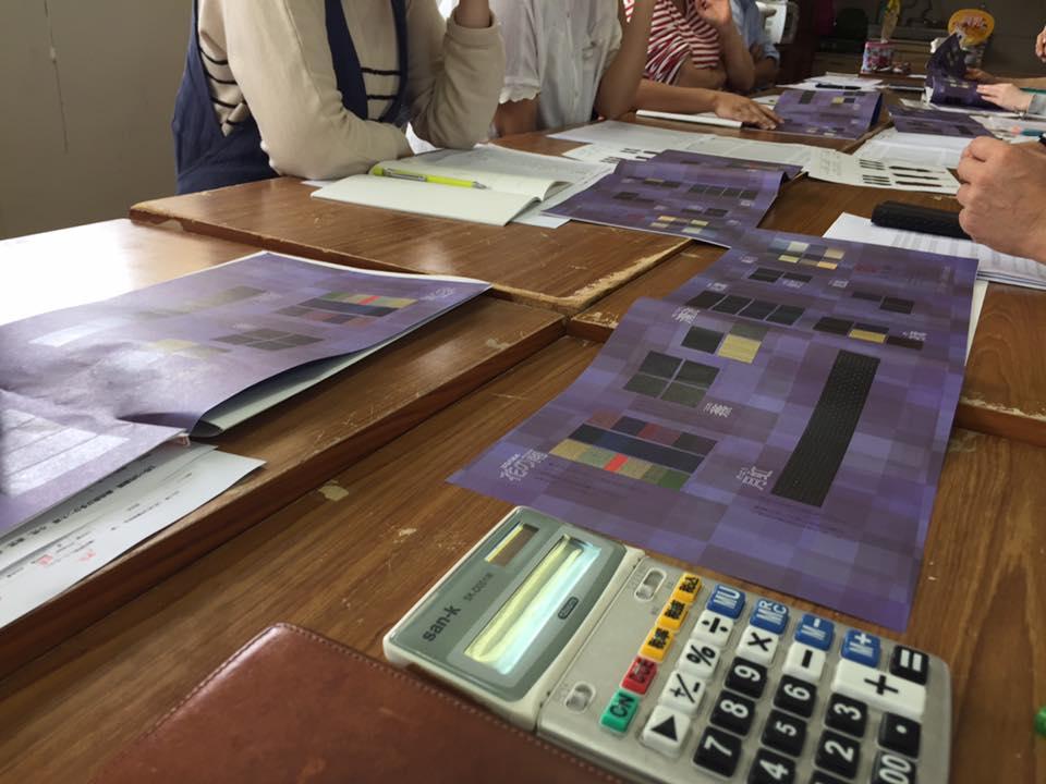 宮田織物のフィードバック会議