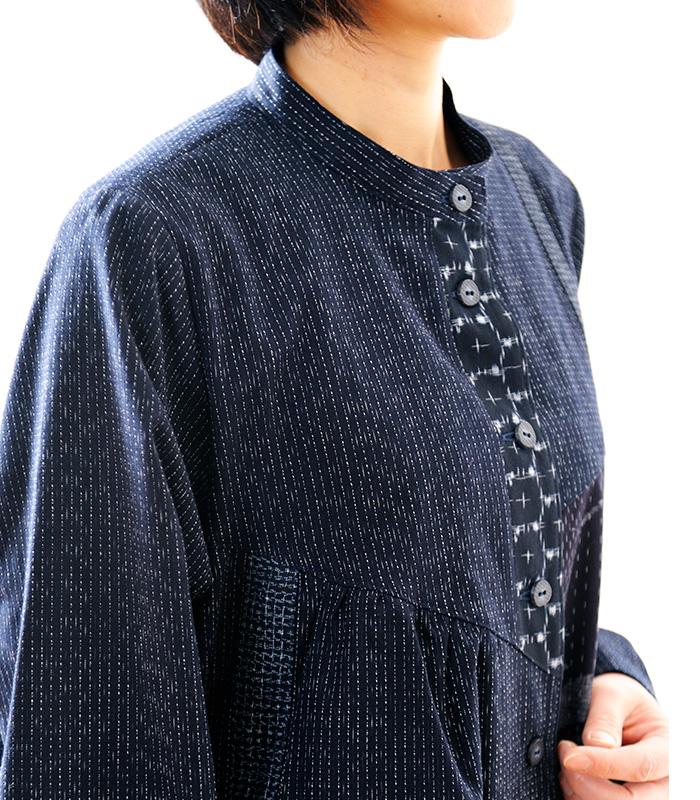 宮田織物オリジナルの婦人服ブランド「彩藍」