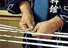 久留米絣の手くびり